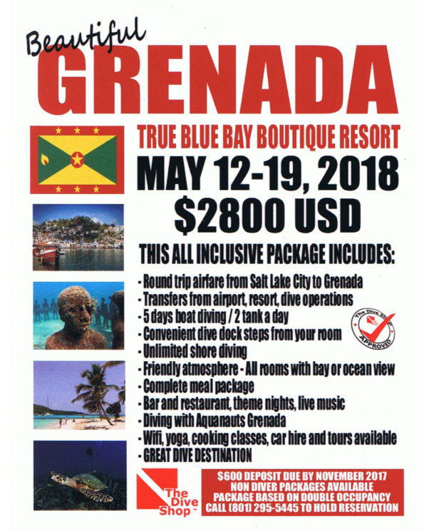 Grenada may 2018 the dive shop for The dive shop